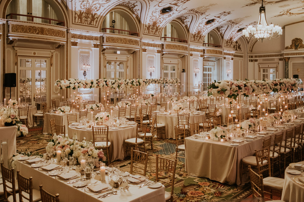 Komal Minhas Wedding Chateau Laurier, Toast Events, reception ballroom