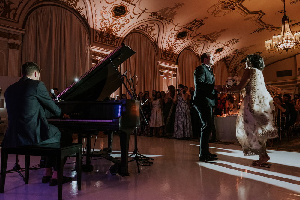 Komal Minhas Wedding Chateau Laurier, Toast Events, Tim Baker Performance
