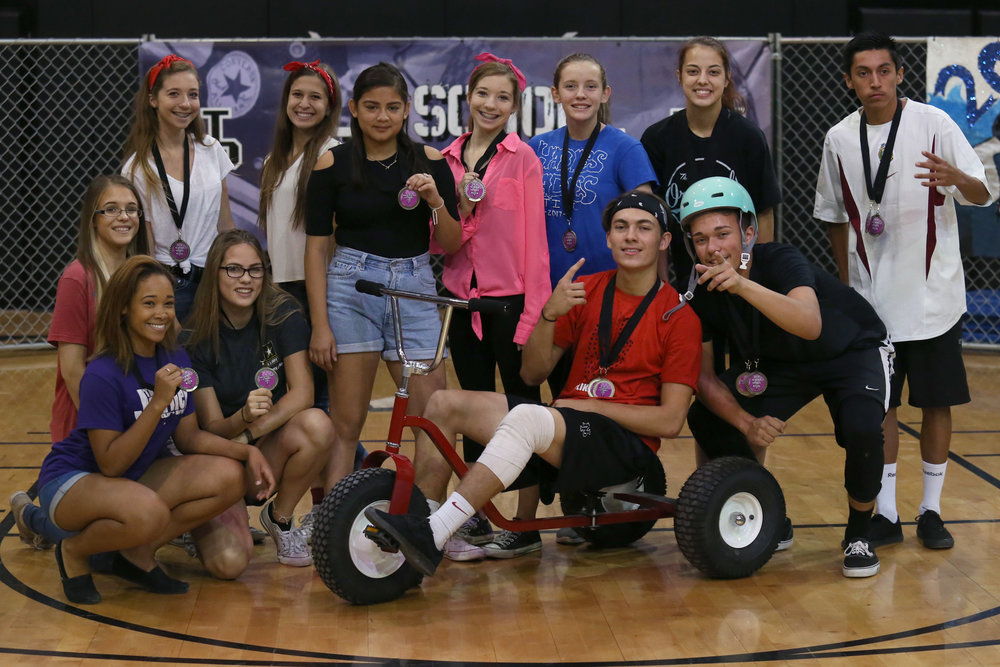 Seniors win Tricycle Taxi Challenge