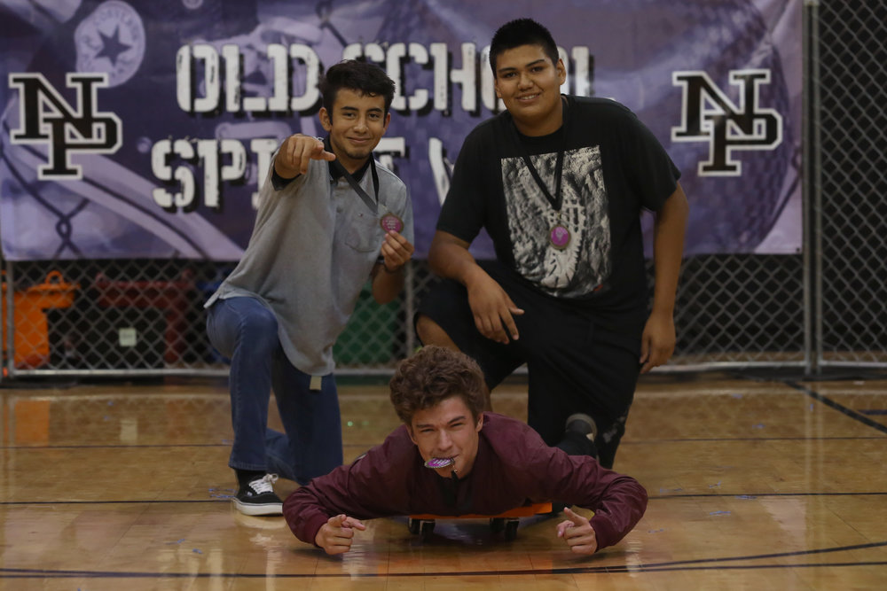 Sophomores win Hungry Hippos Challenge