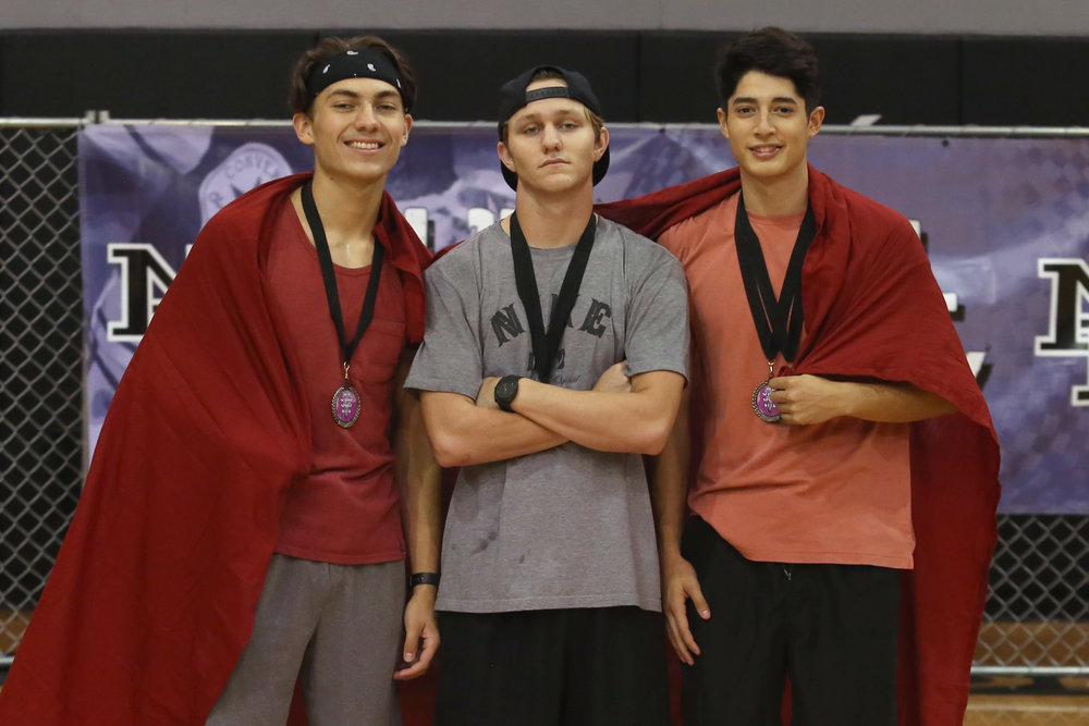 Seniors win Blanket Race Challenge