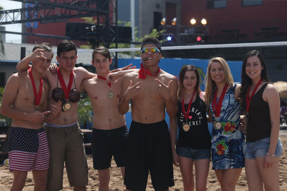 Seniors win Bikini Race Competition