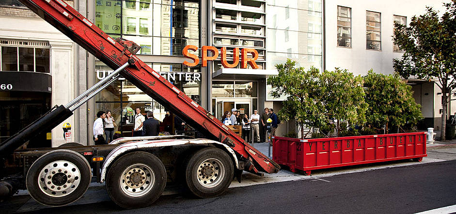 PARK(ing) Day  in San Francisco
