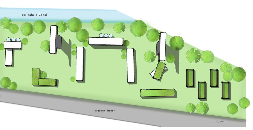 Boxport site plan.