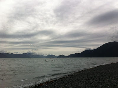 Kayaking in Seward, Alaska