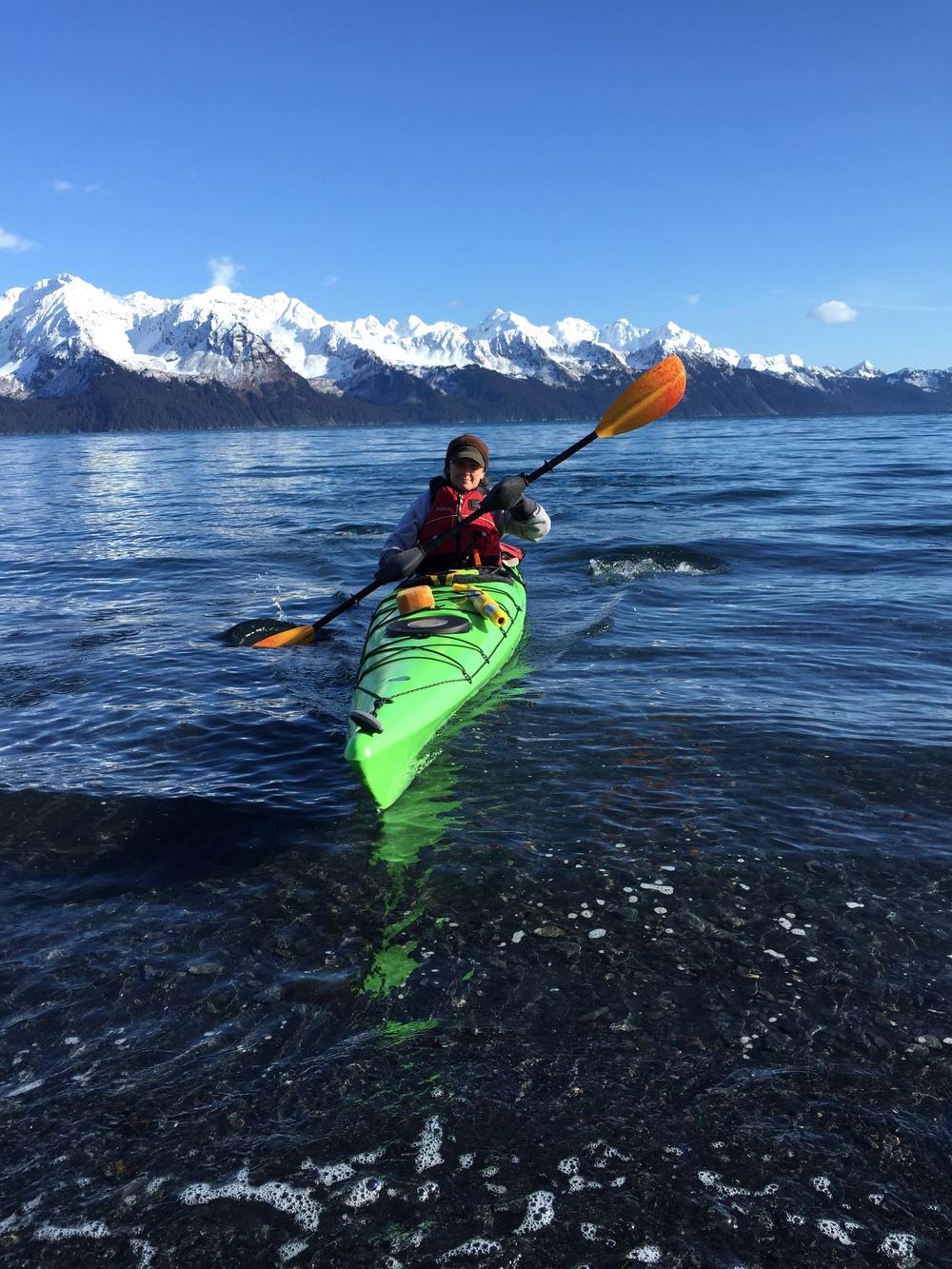 laurie millane kayak alaska