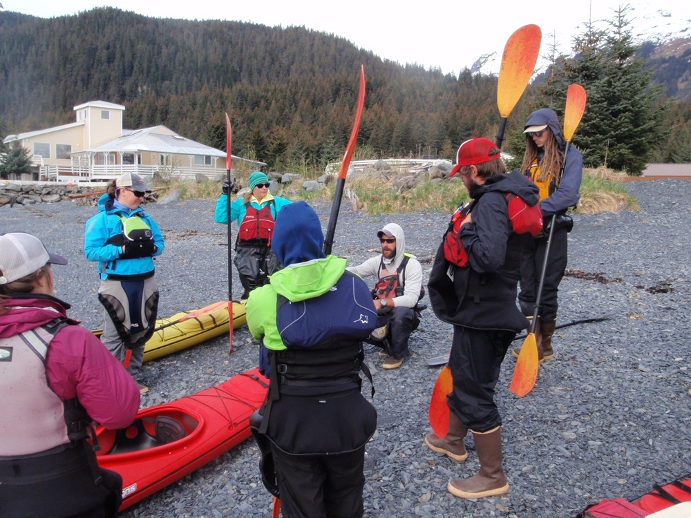 sea kayaking alaska