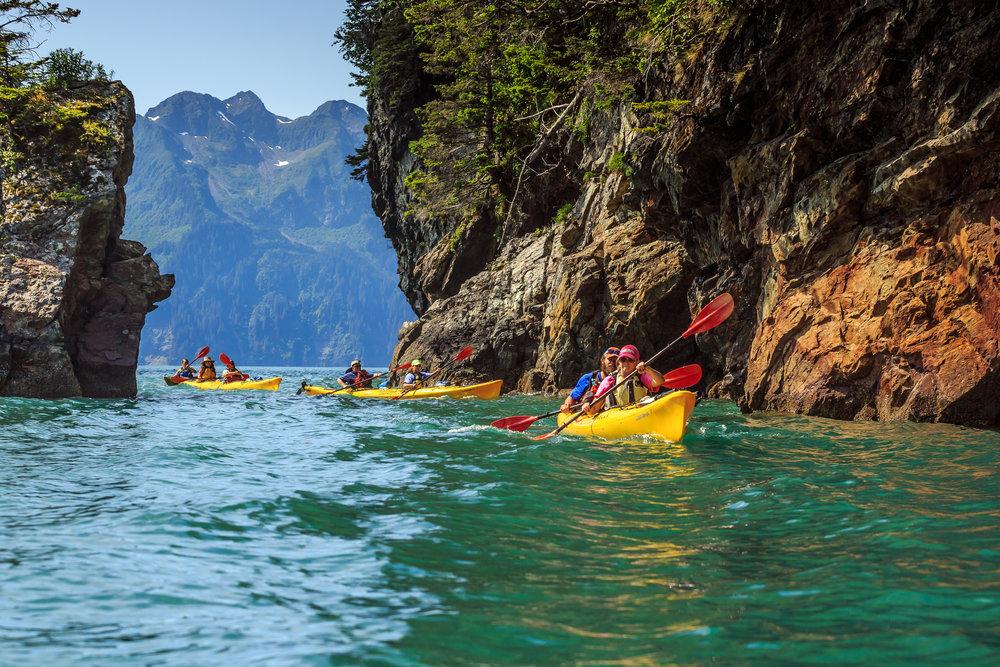 Alaska Sea Kayaking Fox Island, Seward, Alaska