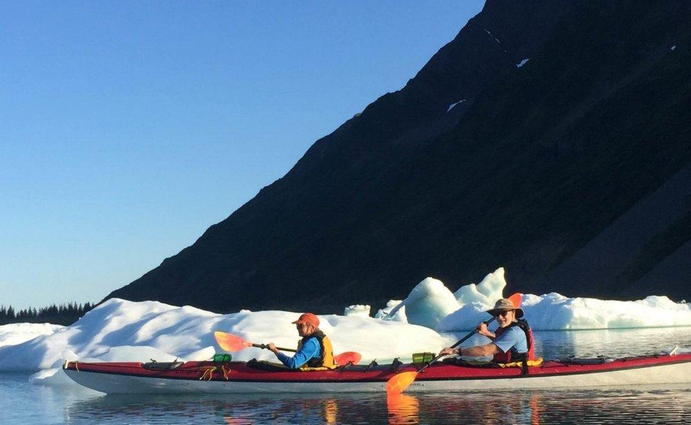 Sea Kayaking Aialik Bay, Kenai Fjords National Park