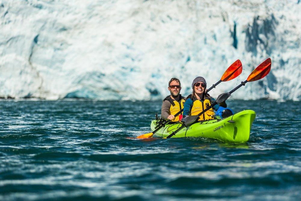 Kayak Glaciers Seward, Alaska