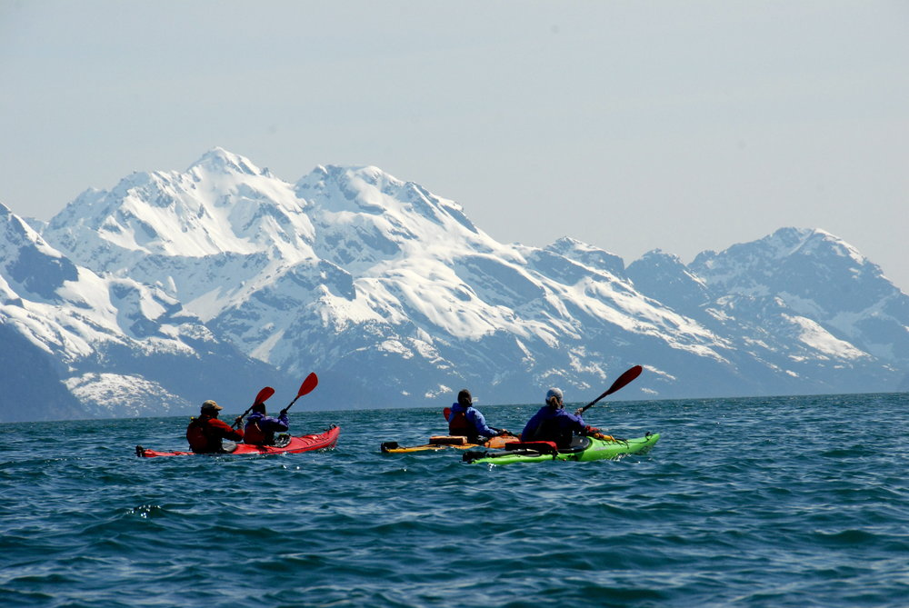 Kayak & Hike Combination Tours Seward, Alaska