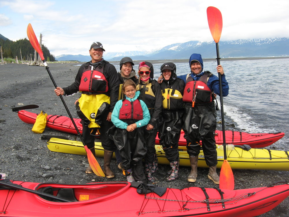 kayaking with kids seward, alaska