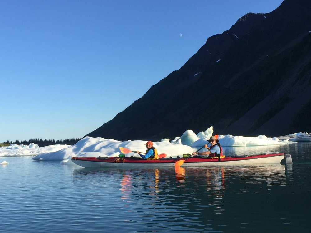 Guided Kayak Rentals - Starting at $799 per person (based on 4 person minimum).Includes guides, kayaking equipment and charter transportation. Guests provide own camping equipment, kitchen equipment and food.