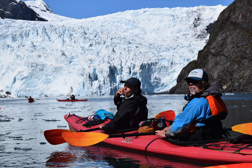 Grand Day Wildlife Cruise & Glacier Kayak Tour - 7:30am-5:00pm daily.Ages 8 and up.$425 per person.Bakery lunch, snacks & beverages included.SELLS OUT EARLY!