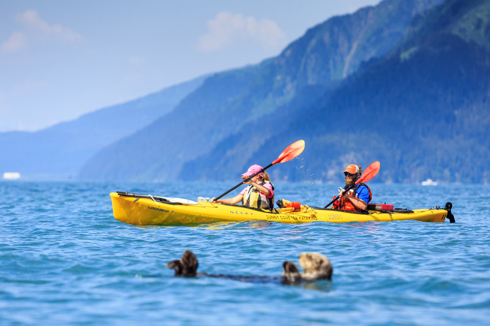 Fox Island Full-Day Kayaking - 8:30am-6:30pm daily.Ages 12 and up.Salmon & prime rib buffet dinner and picnic lunch included.$229 per person.