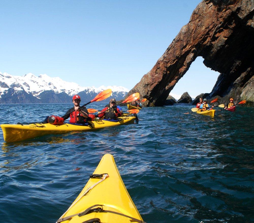 Fox Island Full Day Sea Kayaking, Seward, Alaska