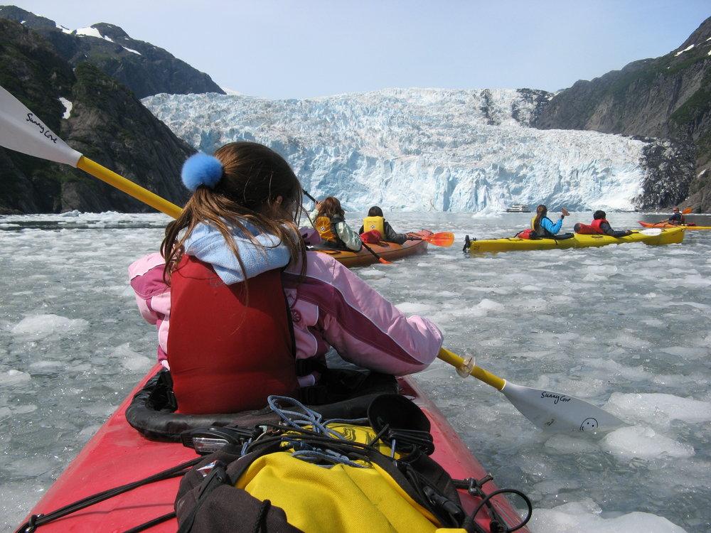 Grand Day Wildlife Cruise & Glacier Kayak