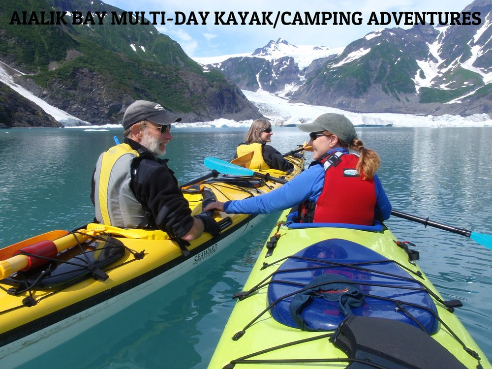 "WHY:  Fall asleep to the sound of tidewater glaciers calving and the ocean lapping at your beach. Wake up to the sights, sounds and smells the of the Alaskan wilderness.    OUR GUESTS SAY:  ""There's a reason people choose SCSK. The guides are so helpful, friendly and HARD WORKING. My husband, grand daughter and I spent three days camping/kayaking at Holgate Glacier with our guide. We were provided with everything needed for the trip, rain gear, boots and all camping equipment. The meals were excellent! Nothing was left out! This has been the highlight of our Alaskan trip!""  k  evin7144 - TripAdvisor    TRIP TIP:  Touch, taste and feel Alaska up close & personal. A truly immersive experience.   ALTERNATIVE TOUR:   Northwestern Fjord Multi-Day Kayak/Camping Adventures      LEARN MORE ABOUT      AIALIK BAY MULTI-DAY KAYAK/CAMPING ADVENTURES"