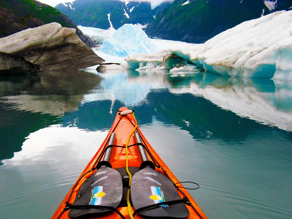 Aialik Bay Kenai Fjords National Park Kayak Camping