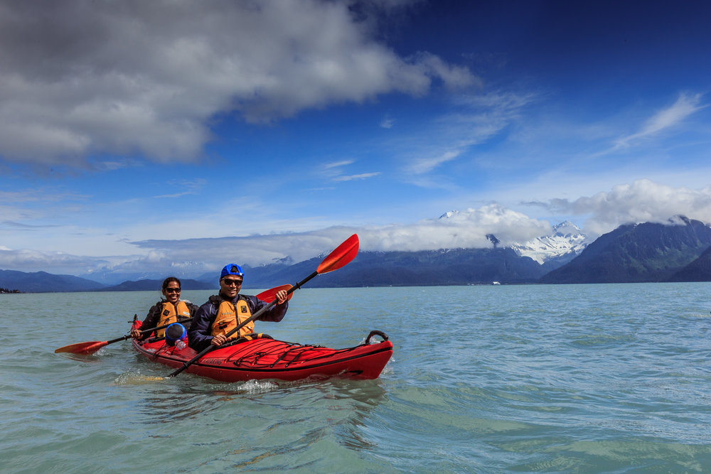 Tonsina Point Kayak & Exploration - 9:00 am - 3:00 pm, ages 8+5/15/19 - 9/6/195.5 hr Kayaking & Rainforest WalkingPicnic LunchHighlightsResurrection Bay, Small Marine Mammals, Beach Combing