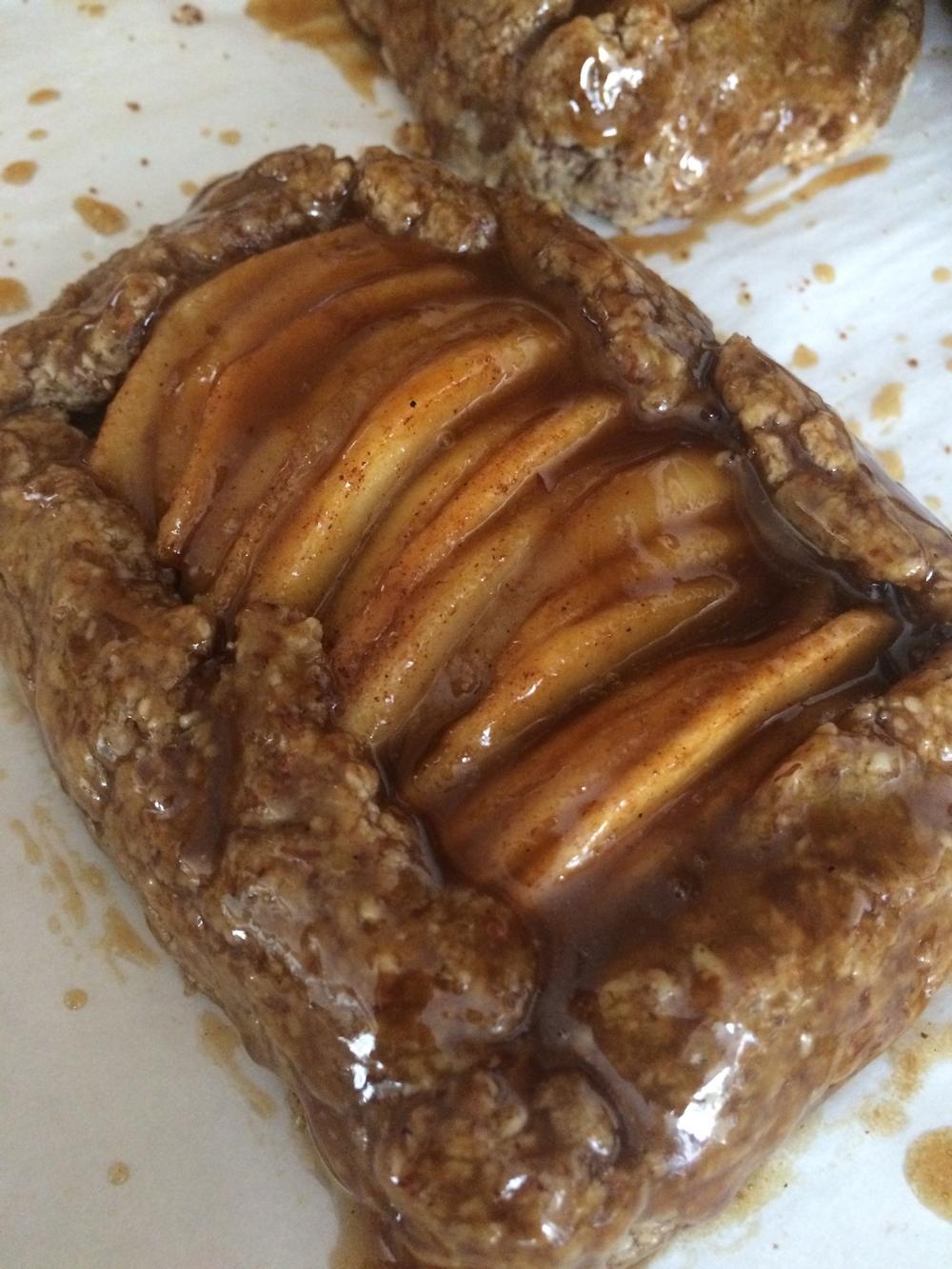 Salted Caramel Apple Tartlets