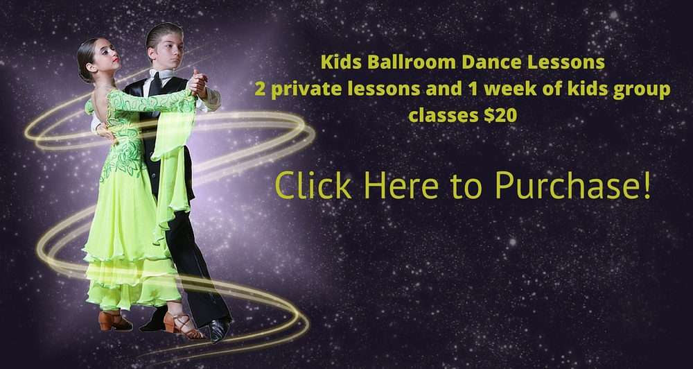 Kids Ballroom Dance Lessons