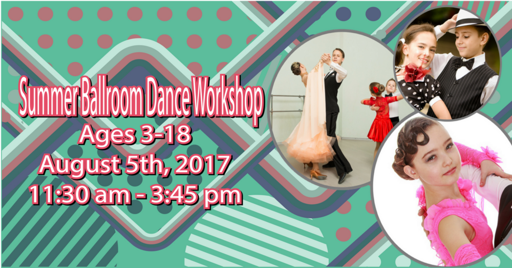 Summer Kids Ballroom Dance Workshop