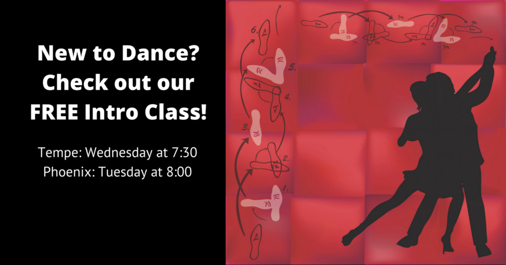 New to dance? Not sure where to start? Check out this Free Intro Class! - Learn more here.