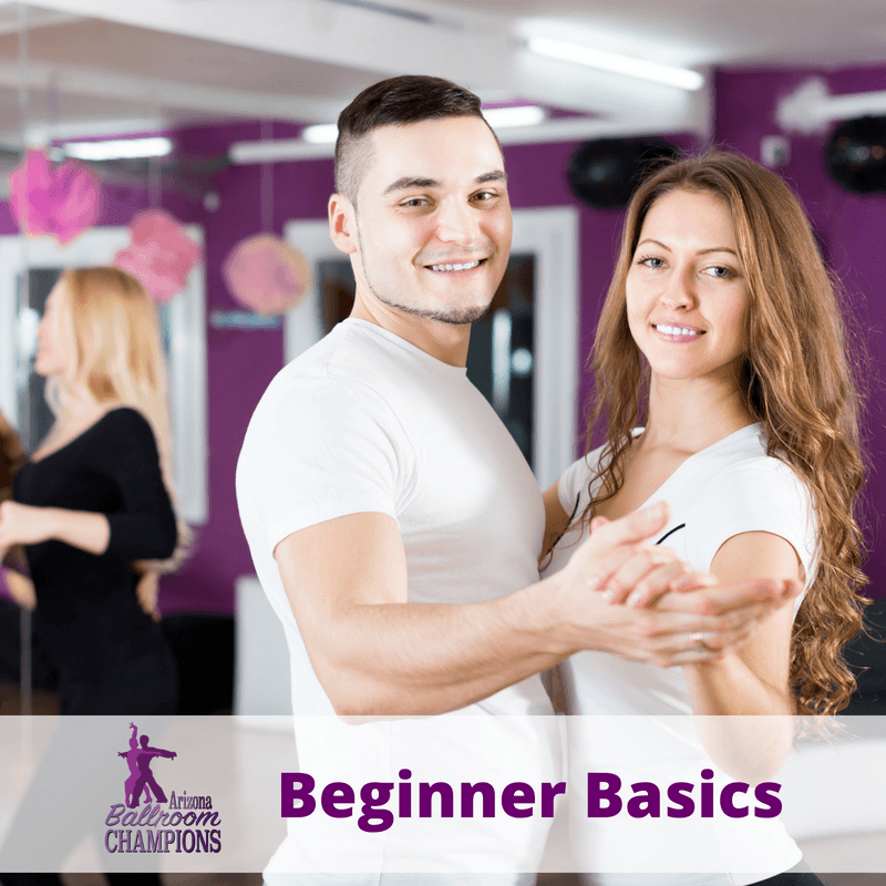 Beginner Basics with Sarah - Join us each and every Tuesday at 6:00 pm for a fun filled class designed to show you just how easy it is to learn how to Ballroom and Latin Dance. Sarah is a former student turned Pro and is sure to help you find your inner dancer. She will take you through the basics for the Foxtrot, Waltz, Rumba, and Swing!Tuesday's at 6:00 pm