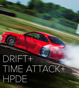 Three days of motorsport for everyone. A full on Beginner - Advanced HPDE. Drifting in both the Drift arena and the Esses top it off with North Americas best grassroots Time Attack series and the all new #GRIDLIFE Enduro. No matter what type of cars you're into, or whatever type of motorsport, #GRIDLIFE has you covered.