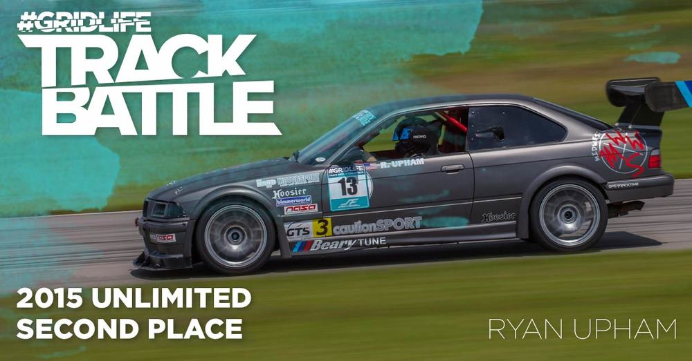 TrackBattle Time Attack 2nd Place Winner. Ryan Upham.