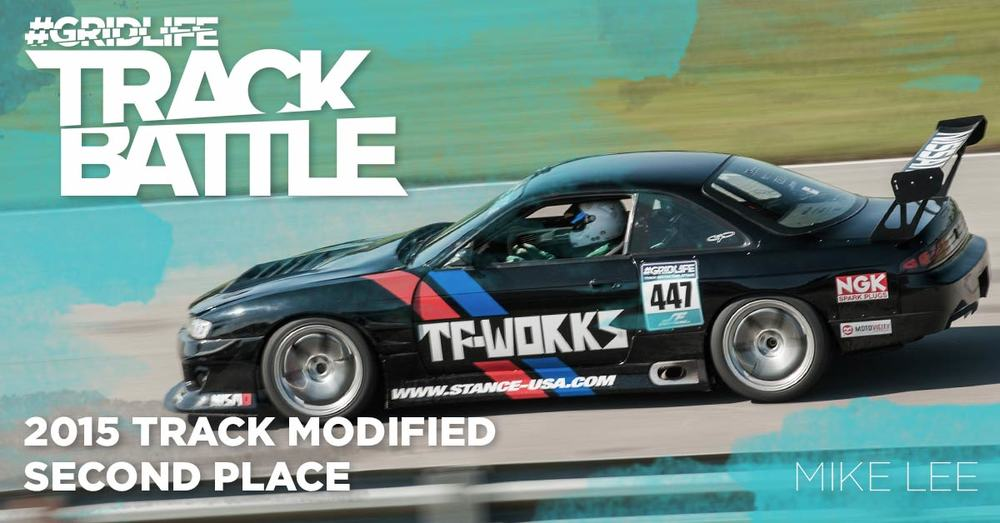 TrackBattle Time Attack Track Modified 2nd Place Winner. Mike Lee.