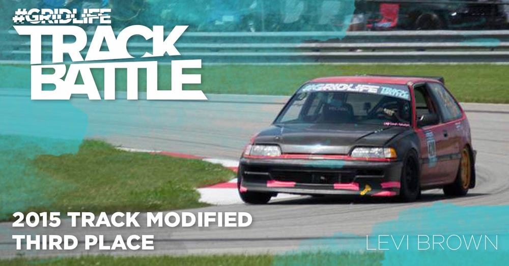 TrackBattle Time Attack Track Modified 3rd Place Winner. Levi Brown.
