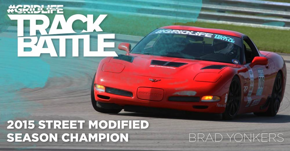 TrackBattle Time Attack Street Modified Champion. Brad Yonkers.