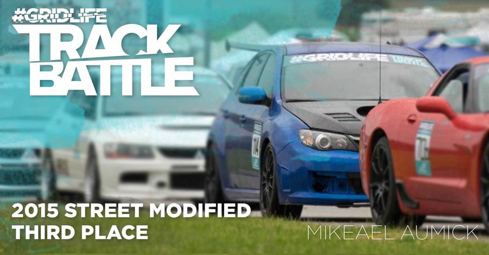 TrackBattle Time Attack Street Modified 3rd Place Winner. Michael Aumick.