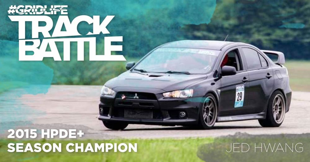 TrackBattle Time Attack HPDE+ Champion. Jed Hwang.
