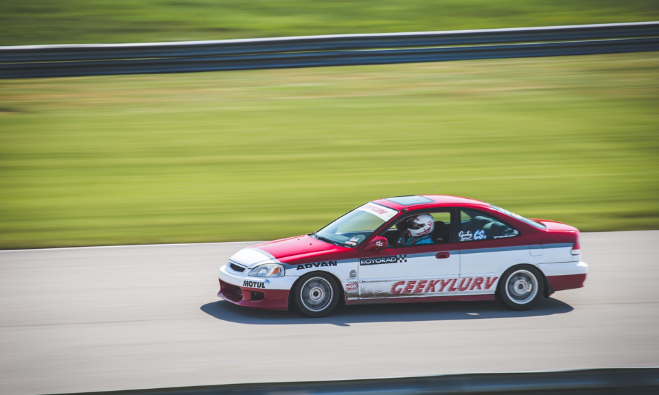 Rambler racing is bringing their mostly stock, but awesome looking civic.  Piloted by Mico, watching this thing around the track is a true joy.