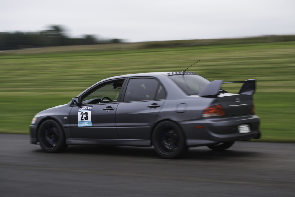 DMN Racing's seamlessly stock Evo is not to be overlooked. Nice suspension set up and nice tires. Plus its an Evo so they are pretty good from the factory.