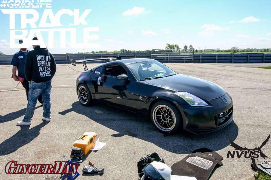 Corey's 350z is a relatively new comer to Trackbattle but with a well prepped 350Z, He should put down some impressive lap times.