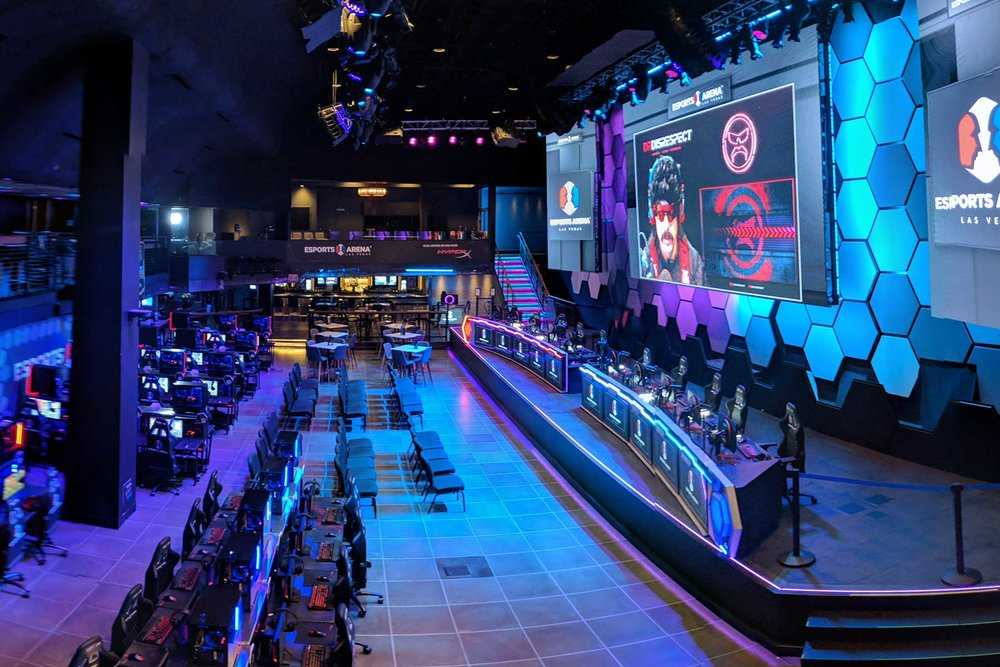 ESports Arena at the LUXOR