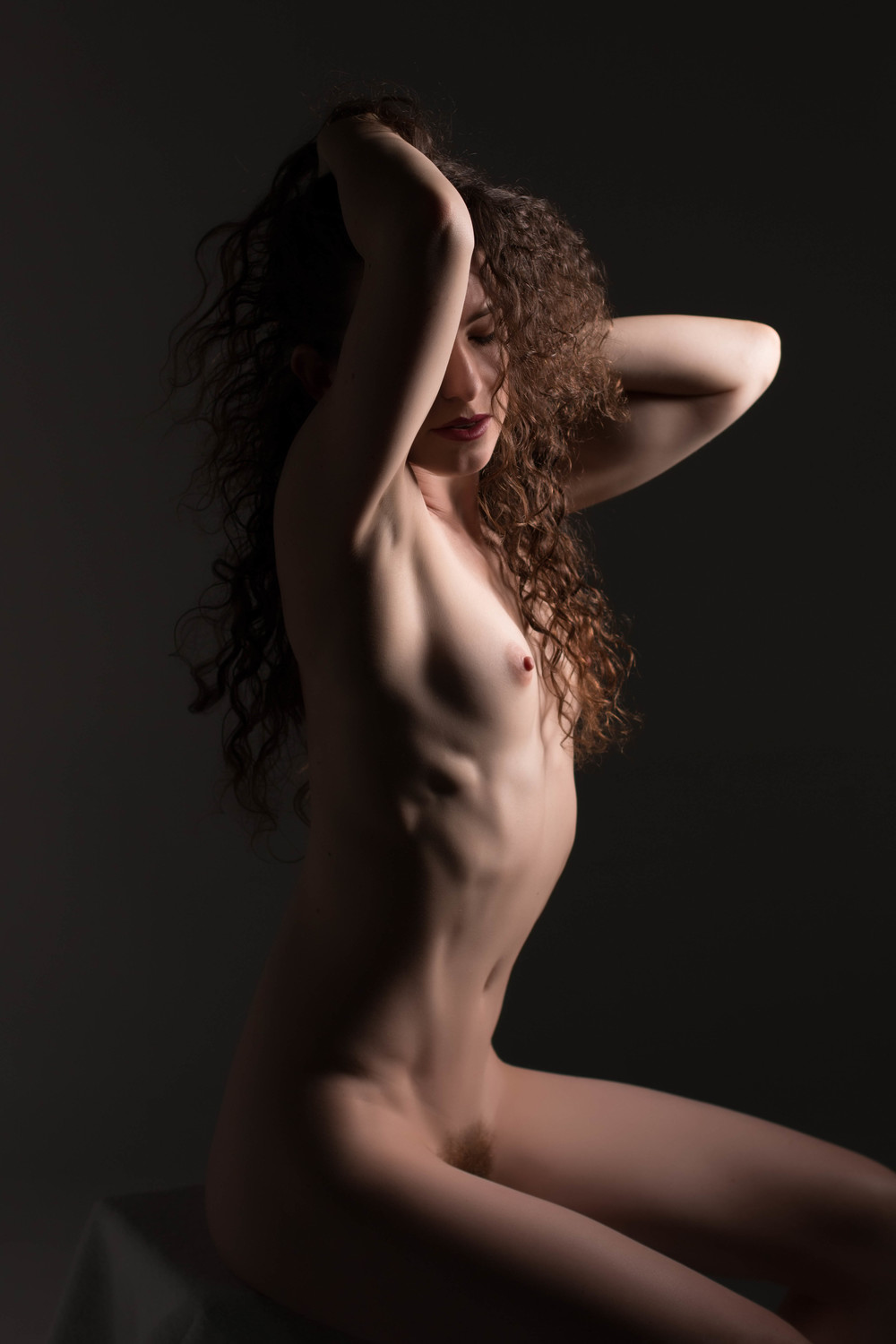 This is Keira Grant from Texas and she is a classic artistic nude model. (best I've ever seen)