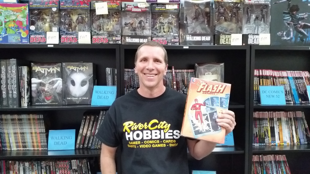 Meet Jim, our resident Comic Book Man!  Never will you find a man more passionate about the art form, especially if The Flash is involved...!