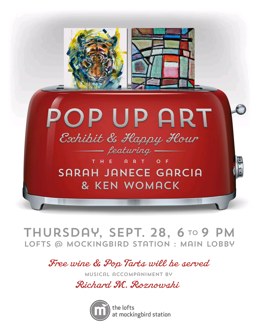 Pop Up Art Exhibit