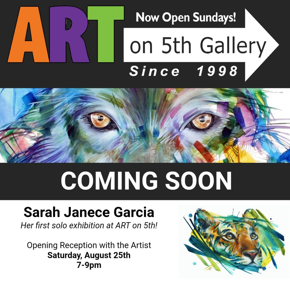 VIEW - SARAH JANECE GARCIA'S AVAILABLE ARTWORK AT ART ON 5TH