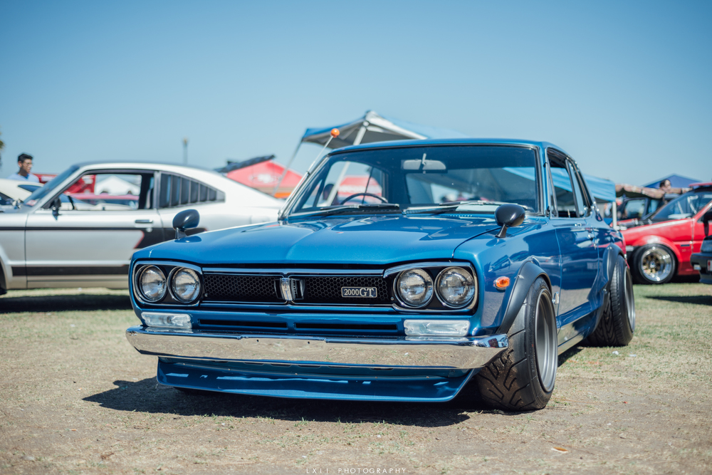 Japanese Classic Car Show at the Queen Mary - JCCS 2015