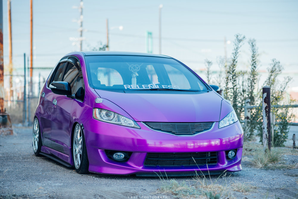 Zuriel's Bagged Honda Fit