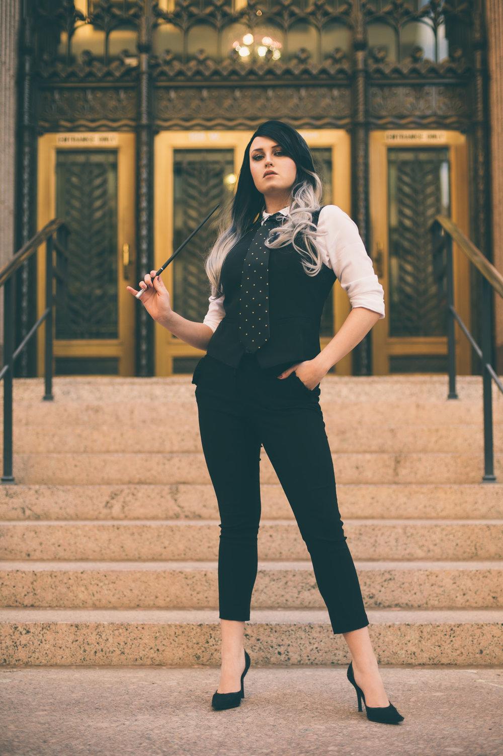 Cosplay Spotlight: Katya as Percival Graves