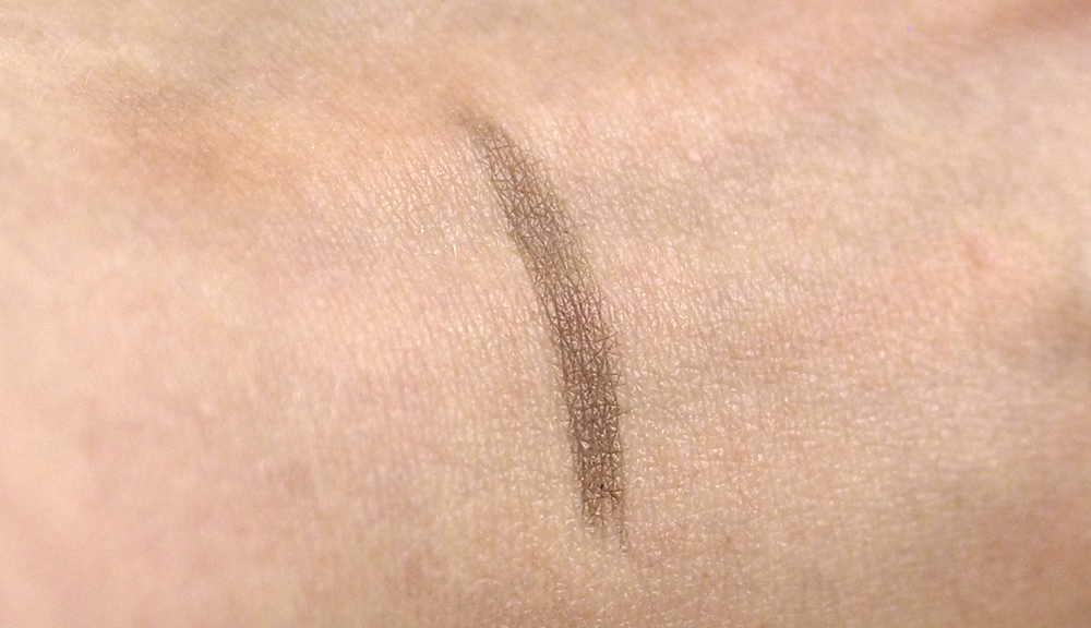 Suqqu eyebrow liquid pen 02 Brown swatch