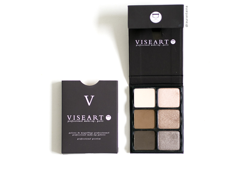 Viseart Cashmere Theory Palette packaging