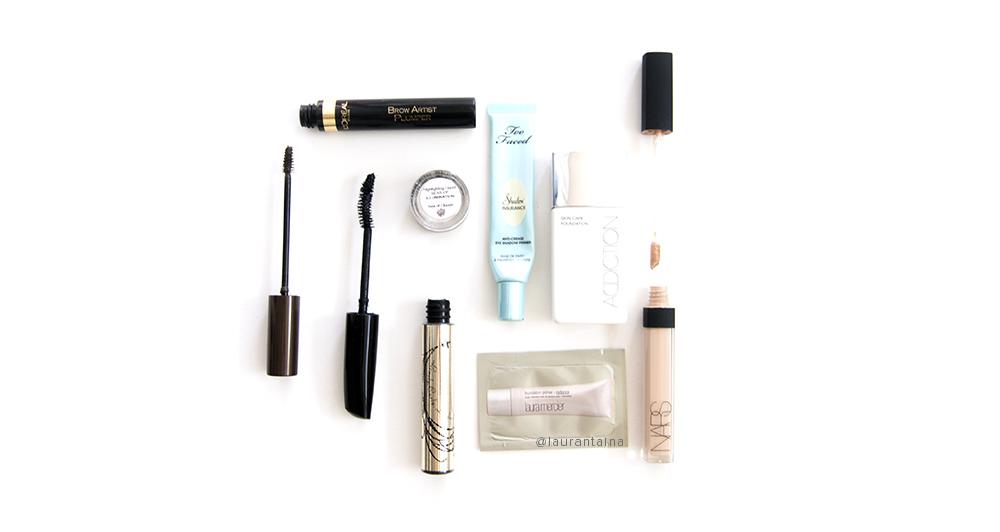 Carry-on make up (liquids)